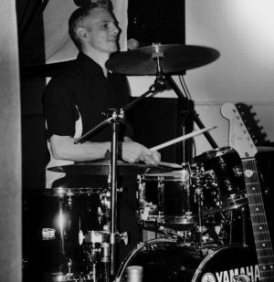 Phil - Drummer for The Roosters Rock n Roll band